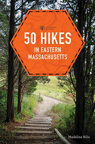 50 Hikes in Eastern Massachusetts (fifth)  (Explorer's 50 Hikes) (English Edition)