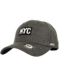 WITHMOONS Gorras de béisbol Gorra de Trucker Sombrero de Baseball Cap  Simple Basic NYC Embroidery Patch 7be5a87a5cf