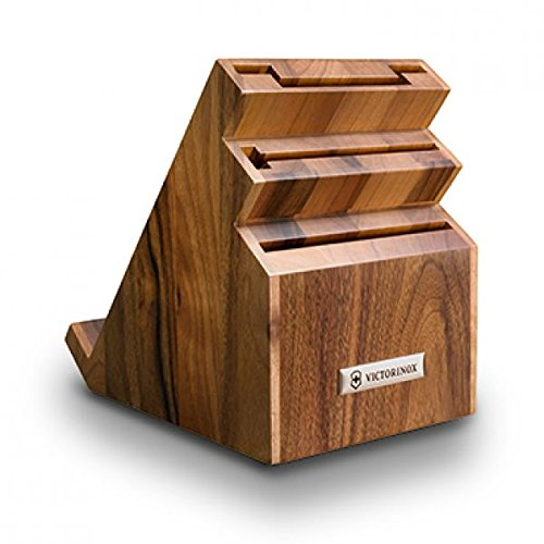 Victorinox Messerblock, Holz, braun, 24 x 22 x 17 cm