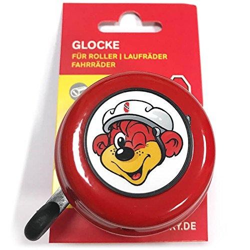 Puky 9984 G 22 Sicherheits-Glocke Z/R, Rot