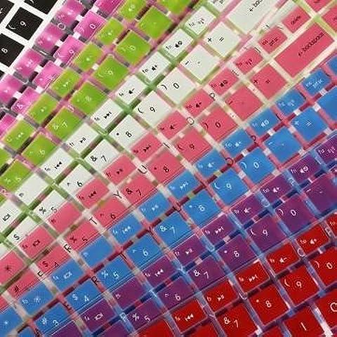 Bheema High Quality Cover - Skin para teclado de HP Pavilion DV6, blanco