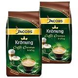 Jacobs Krönung Caffè Crema kräftig, ganze Bohnen, 2er Pack, 2 x 1000g