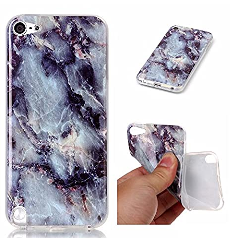 Beiuns pour Apple iPod Touch 5 / iPod Touch 6 Coque en Silicone TPU Housse Coque - N233 marbre E