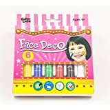 Magnus Face Deco Face Paint- Non Toxic & Washable (Large)