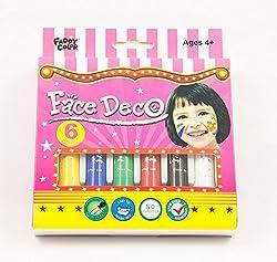 Magnus Face Deco Face Paint- Non Toxic & Washable (Large)