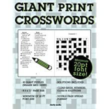 Giant Print Crosswords