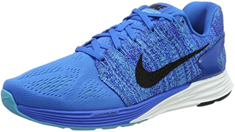 Nike Herren Lunarglide 7 Laufschuhe  weissszlig  Medium
