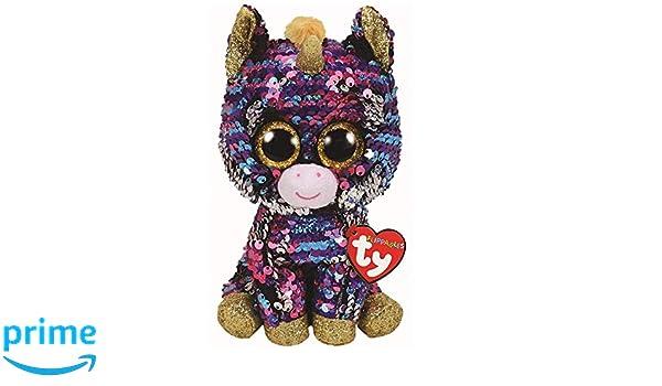 Alaska Stuffed Animals, Ty Flippables Celeste The Unicorn 10 Beanie Boos New In Hand