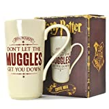 Harry Potter MUGLHP01 Kaffeetasse, Keramik, Beige, 8 x 15 cm