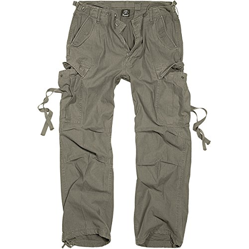Brandit M-65 Vintage Pantaloni Oliva taglia XL