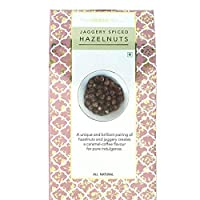 TheNibbleBox Jaggery Spiced Hazelnuts Trail Mix Box 100g