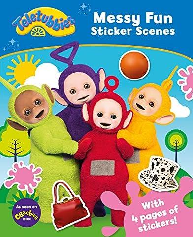 Teletubbies: Messy Fun Sticker Scenes