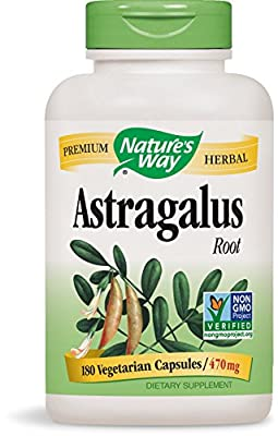 Natures Way Astralagus, 180 Vegicaps from Nature's Way