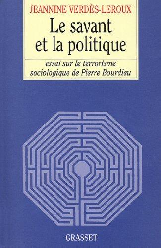 Le savant et la politique (essai français)