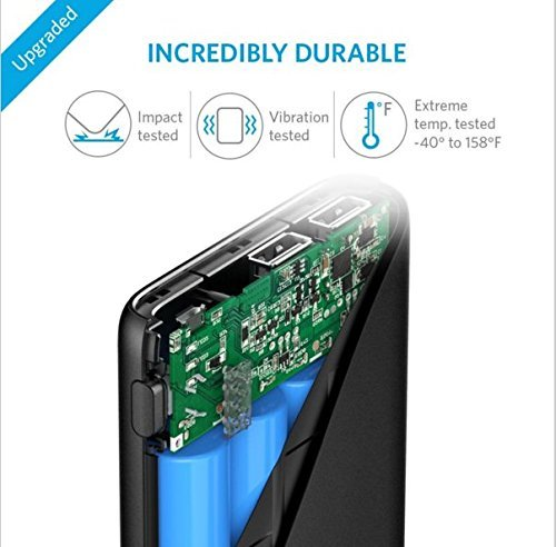 Best anker power bank in India 2020 Anker PowerCore 10400 mAh with Power IQ (Black) Image 4
