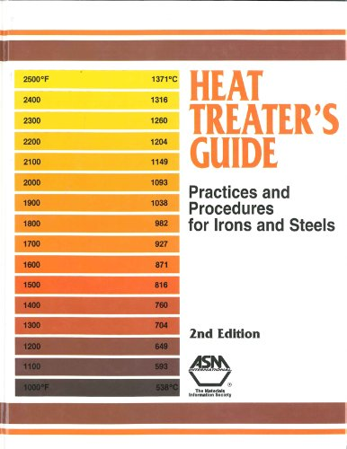 Heat Treater's Guide: Standard Practices for Irons and Steels