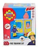 Feuerwehrmann Sam 109251052 - Kleiner Trainings-Turm mit Figur Test