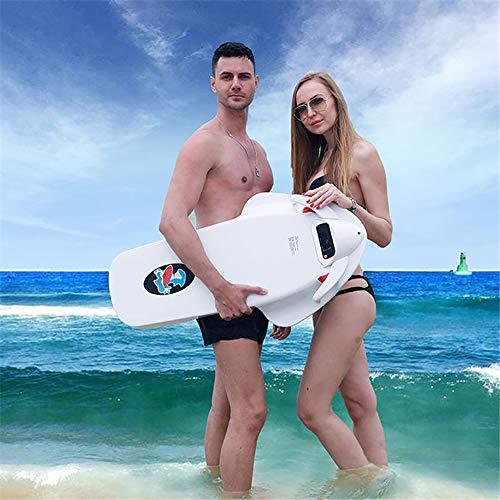 ZUZEN F2 ABS Elettrico motorizzato Sea Scooter 3200 W 36V Surfing Surfboard da Surf motorino da Surf Indipendente elica Bianca