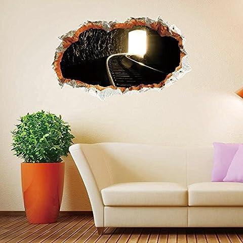 FEI&S Wandbild Tapete en el contexto del Hotel dormitorio, sala de estar sofá perspectiva verde barniz creative 3D-insignias pared adhesivo Stock niños cartoon insignias decorativo pared etiqueta