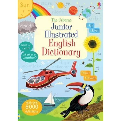Junior Illustrated English Dictionary (Illustrated Dictionaries and Thesauruses) by Wood Hannah(2016-01-01)