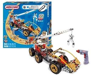 Meccano -83 9550-Jeu de construction - 50 Modèles