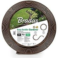 Brasa Bordure de pelouse flexible 10 m + 20 piquets de fixation