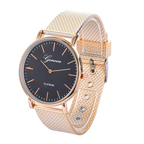 ZODOF Relojes para Hombre Reloj Damas de Malla Impermeable EleganteBanda de Acero Inoxidable Relojes...