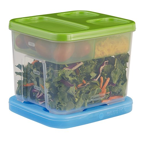 Lunch-box Green Go (Rubbermaid Lunch Blox Salat-Box)