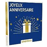 SMARTBOX - Joyeux anniversaire - Coffret cadeau celebration - À choisir parmi 8750 séjours, séances bien-être, aventure ou gastronomie. Offrez une activité ou un séjour pour 1 à 4 personnes