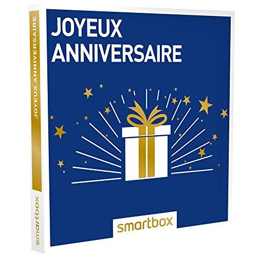 SMARTBOX - Joyeux anniversaire - Coffret cadeau celebration - À choisir parmi 8750...