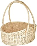 Agus cane Wire Flower Basket Bouquet wit...