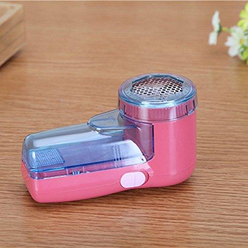 tfxwerws Nützliche Tragbare elektrische Pullover Fuzz Off Entferner Fluff entfernen Maschine (Rosy)