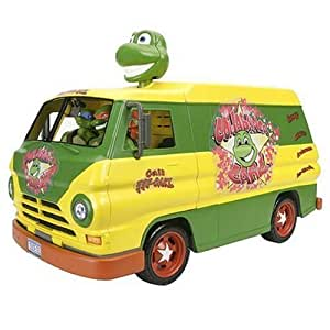 tortue ninja voiture camion figurine cowabunga carl party. Black Bedroom Furniture Sets. Home Design Ideas