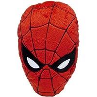 Spiderman 14585 - Cuscino sagomato a forma di viso 20x36 cm