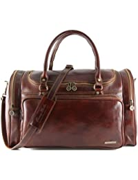 81415384 - TUSCANY LEATHER: ANTIGUA - Sac de voyage / Housse de transport vêtments en cuir, marron