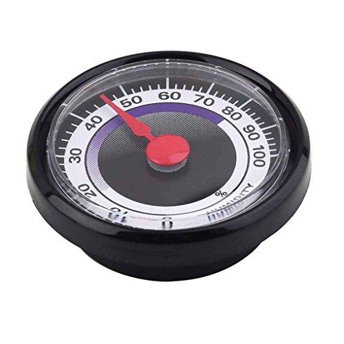 Lorsoul Tragbarer Feuchtigkeitsmesser, für Innen Außen, Accurate Durable Analog Hygrometer,