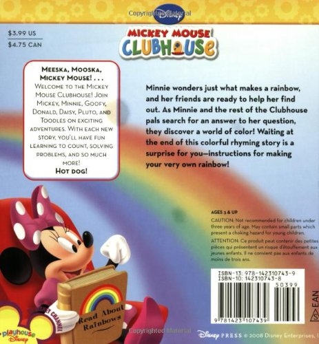 Image of Minnie's Rainbow [With Mylar Mirror (to Make Your Own Rainbow)] (Mickey Mouse Clubhouse)