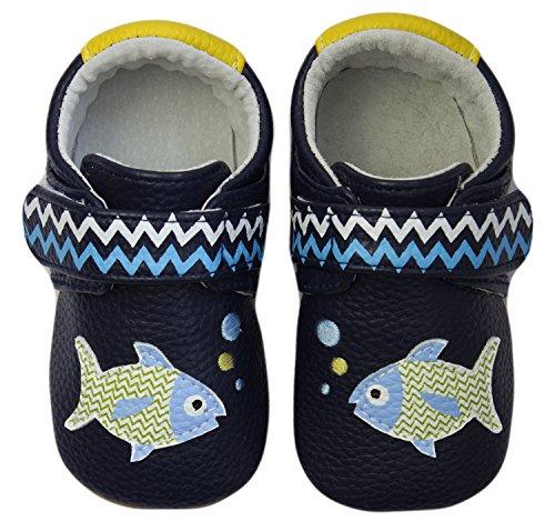 ju-ju-be-rcm-polka-fish-baby-boys-standing-baby-shoes-blue-blue-1024-0612-6-12-months-baby-uk-19-eu