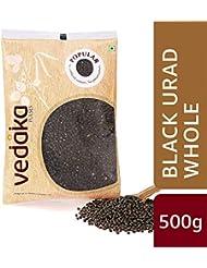 Amazon Brand - Vedaka Popular Black Urad Whole/Sabut, 500g