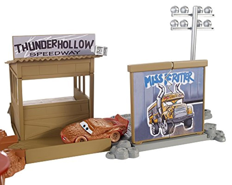 Voitures Enfant Circuit Avec Cars Couvert Thunder Pour Flash Mcqueen HollowPiste De Défi Disney Véhicule BoueJouet Coffret Pixar Course kuZTOPXi