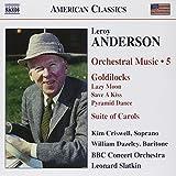 Leroy Anderson: Musique Orchestrale /Vol.5