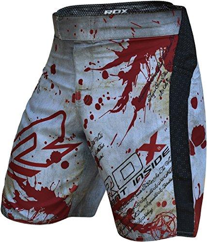 RDX MMA Pantalones Corto Boxeo Entrenamiento Shorts Muay Thai Running Fitness Kickboxing