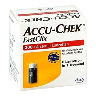 Accu Chek Fastclix Lanzetten 204 stk