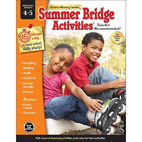 Summer Bridge Activities(r), Grades 4 - 5 (Quest 4 Brain Grade Workbook)