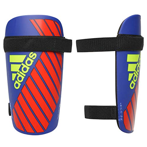 adidas X LITE Guard Shin, Bold Blue/Active red/Solar Yellow, L -
