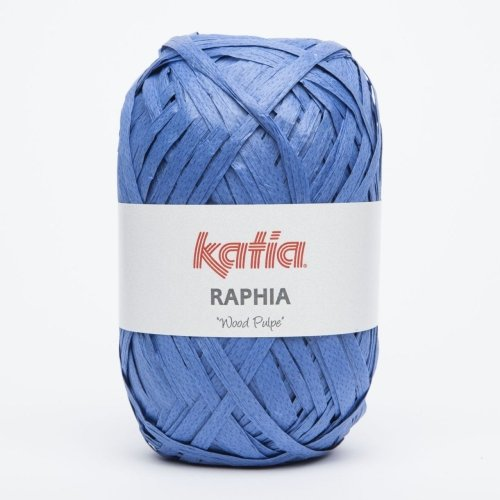 Katia Raphia Wood Pulpe - Farbe: Tejano (88) - 50 g / ca. 115 m Wolle - Seide Stricken Tasche