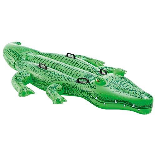 aufblasbares Schwimmtier Reittier Krokodil Alligator 203 x 114 cm