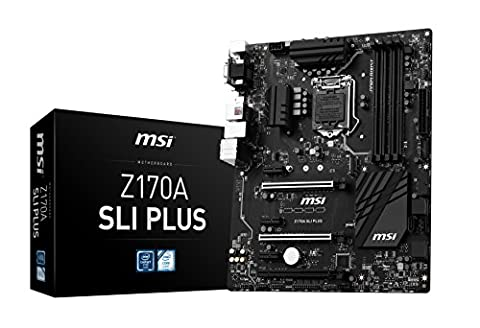 MSI Mainboard Z170A SLI PLUS LGA1151 4x DDR4 max 64GB