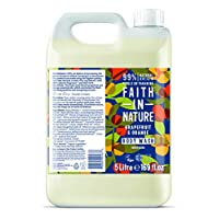 Faith In Nature 10/GR5 Grapefruit & Orange Body Wash - 5l 11