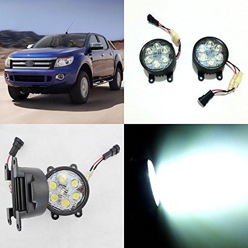 july-king-led-day-running-lights-6500k-1260lm-18w-h11-led-fog-lamps-assemblage-pour-ford-ranger-t6-2
